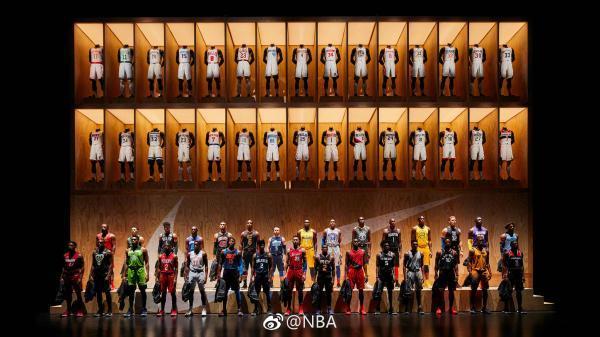 NBA發布了新款球衣,內置小芯片將徹底改變你的籃球世界